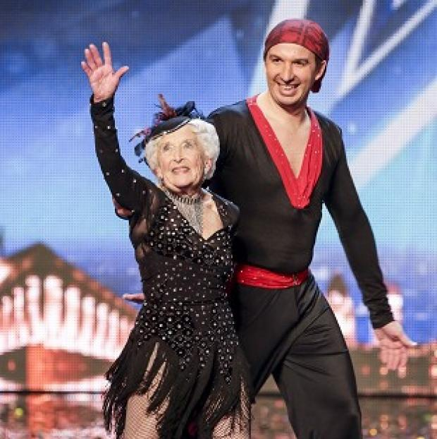 This Is Local London: Paddy Jones said she now felt well enough to dance again with her partner Nico in the Britain's Got Talent semi-finals (ITV/PA)