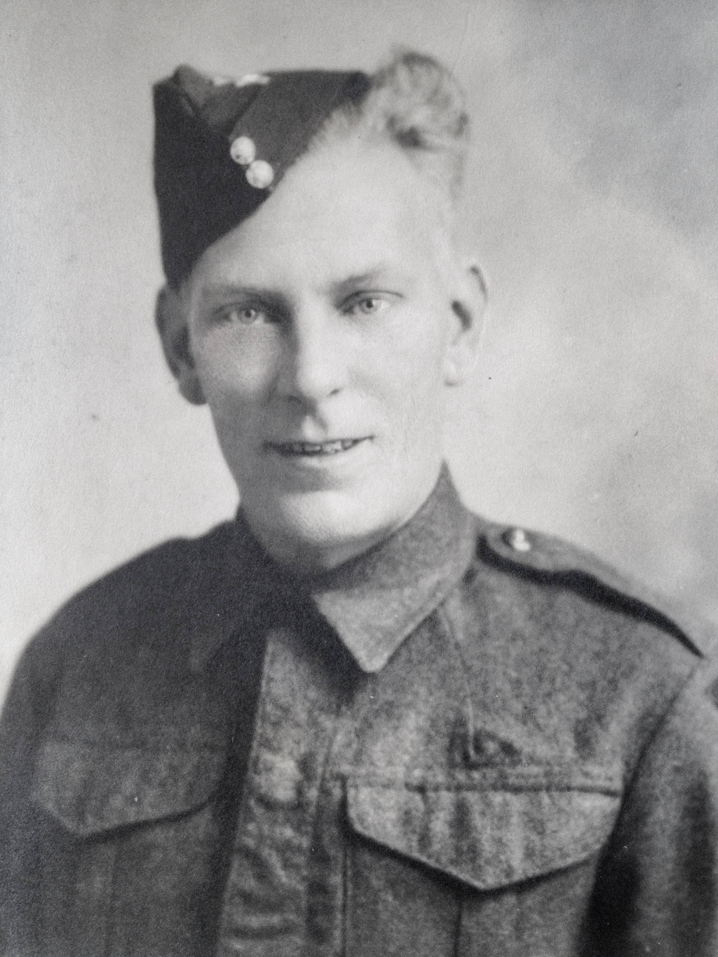 Tragic: William 'Ben' Butler was killed during the D-Day invasion