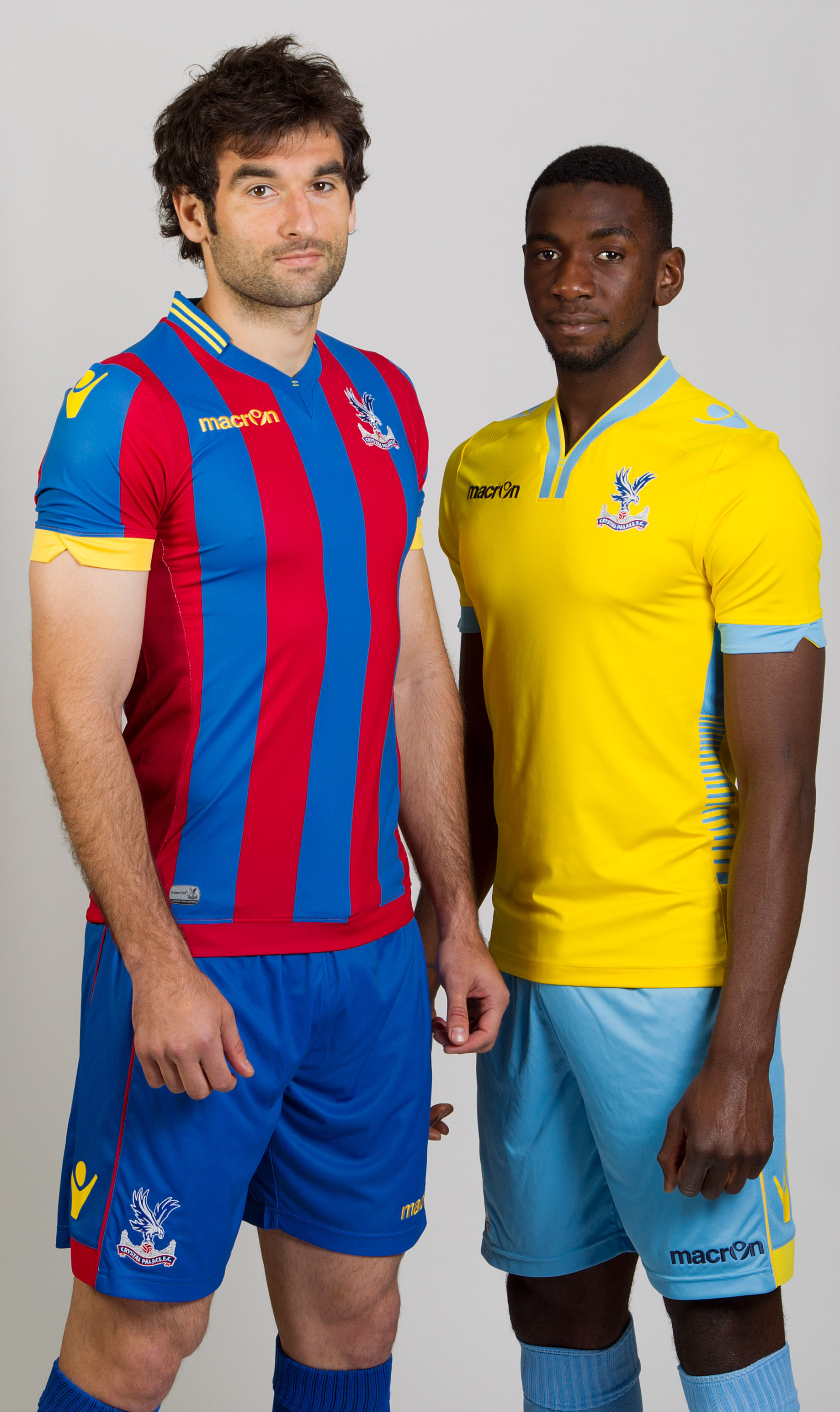 Crystal Palace's new kit for 2014/2015 - what do you think?