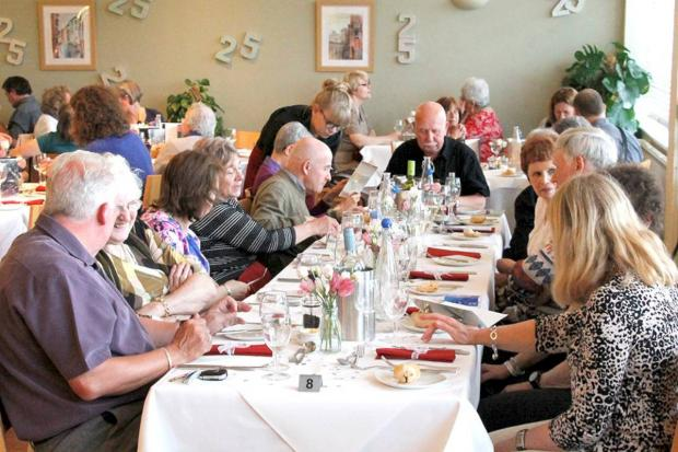 Tasty: Merits held a series of anniversary lunches and dinners