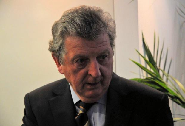Roy Hodgson has previous with Crystal Palace and Gravesend & Northfleet (now known as Ebbsfleet United). Picture by David Purday.