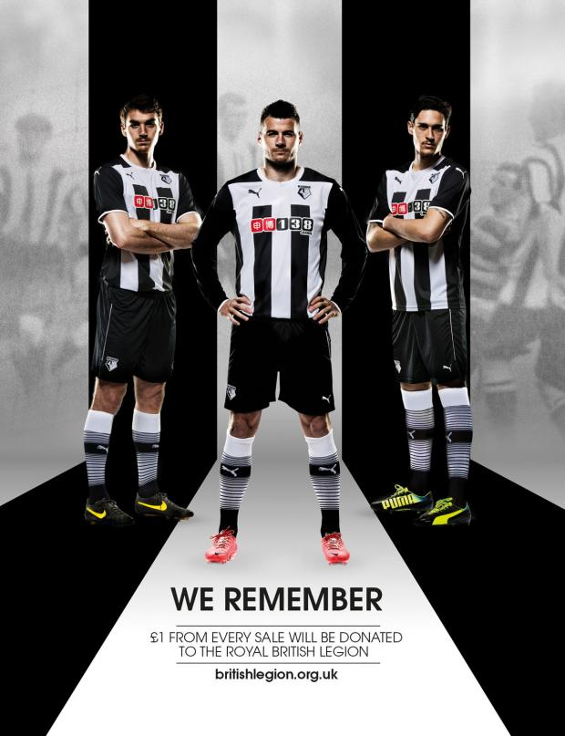 This Is Local London: Tommie Hoban, Daniel Pudil and Gabriel Angella model the new away kit.