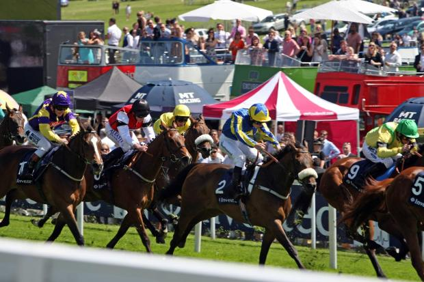 Some 120,000 people went to this year's Epsom Derby