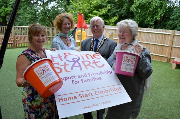 Charitable giving: Home-Start Elmbridge will benefit from the mayor's activities