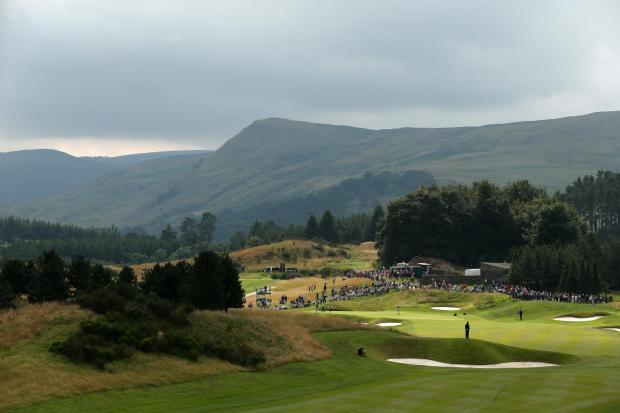 Alan Field will play for the chance to compete at Gleneagles (pictured). Picture: Action Images