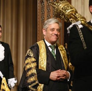 Commons Speaker John Bercow says voters s