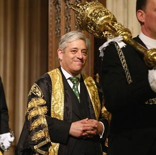 This Is Local London: John Bercow, the Speaker of the House of Commons.