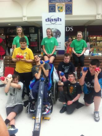 Sport for all: Dash participants benefit from a range of activities