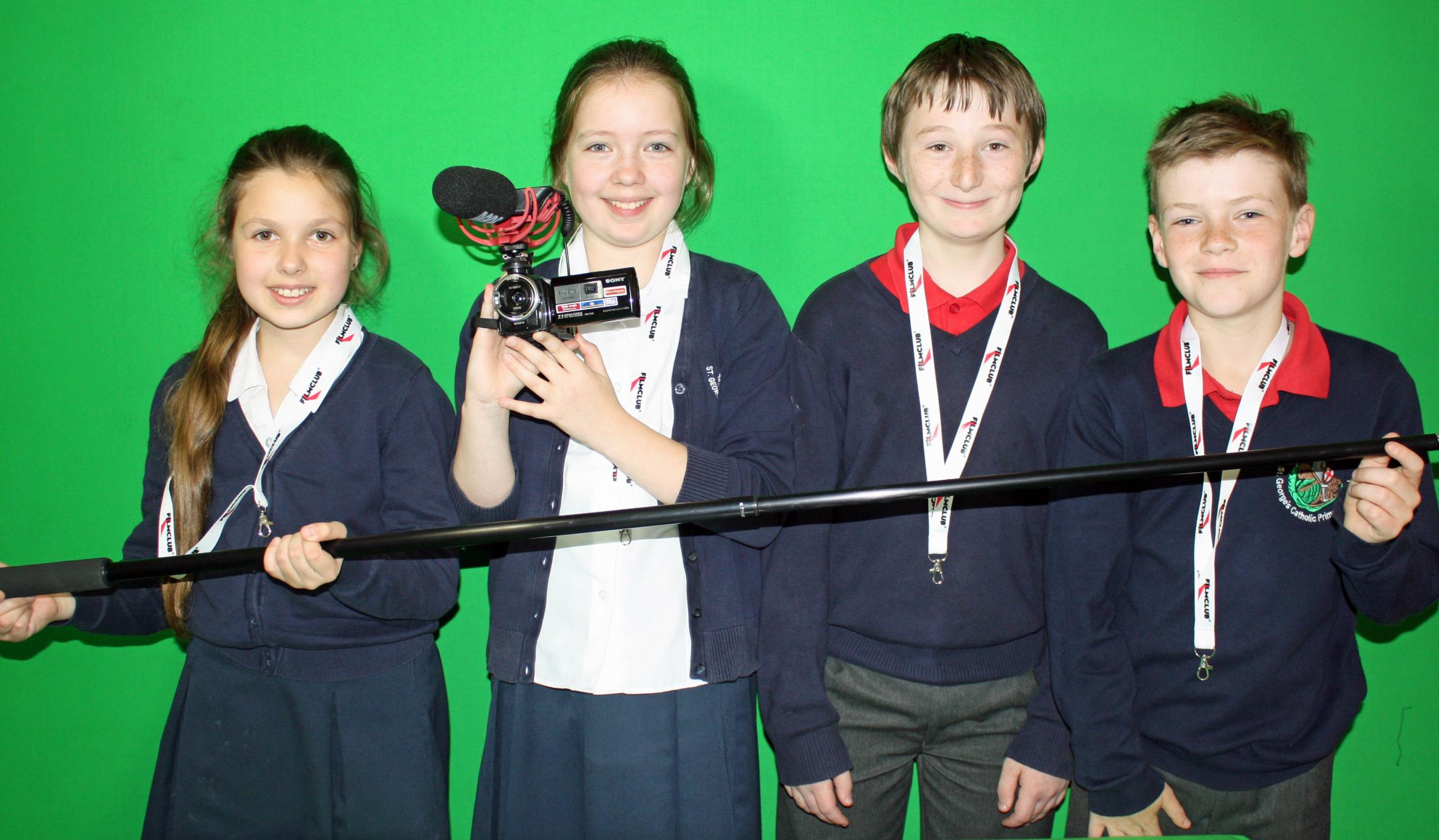 Pupils pick up film prize