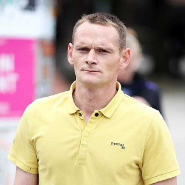 This Is Local London: Lee Horner arrives at Leeds Magistrates' Court for a hearing over the death of his partner in a dog attack