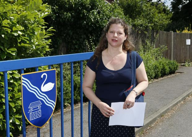 County Councillor Stella Lallement has created the petition over plans for Stamford Green Primary School