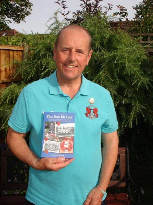 This Is Local London: Author Steve Jenkins with the revised centenary edition (credit: Karon Jenkins)