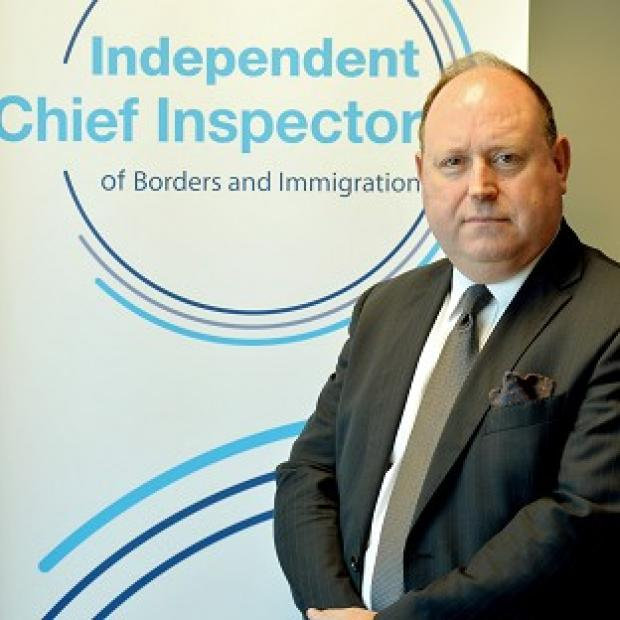 This Is Local London:  John Vine, the Chief Inspector of Borders and Immigration