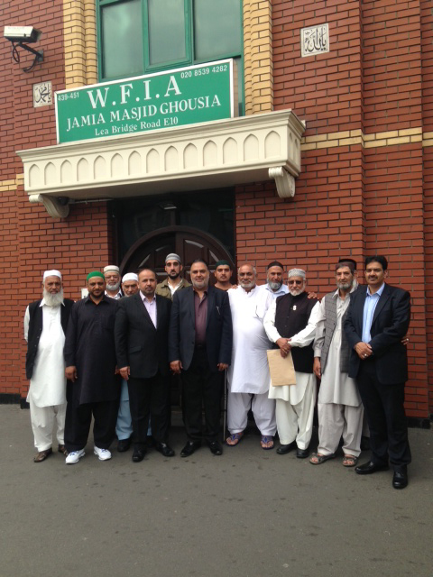 A new committe has been voted in to run the Waltham Forest Islamic Association