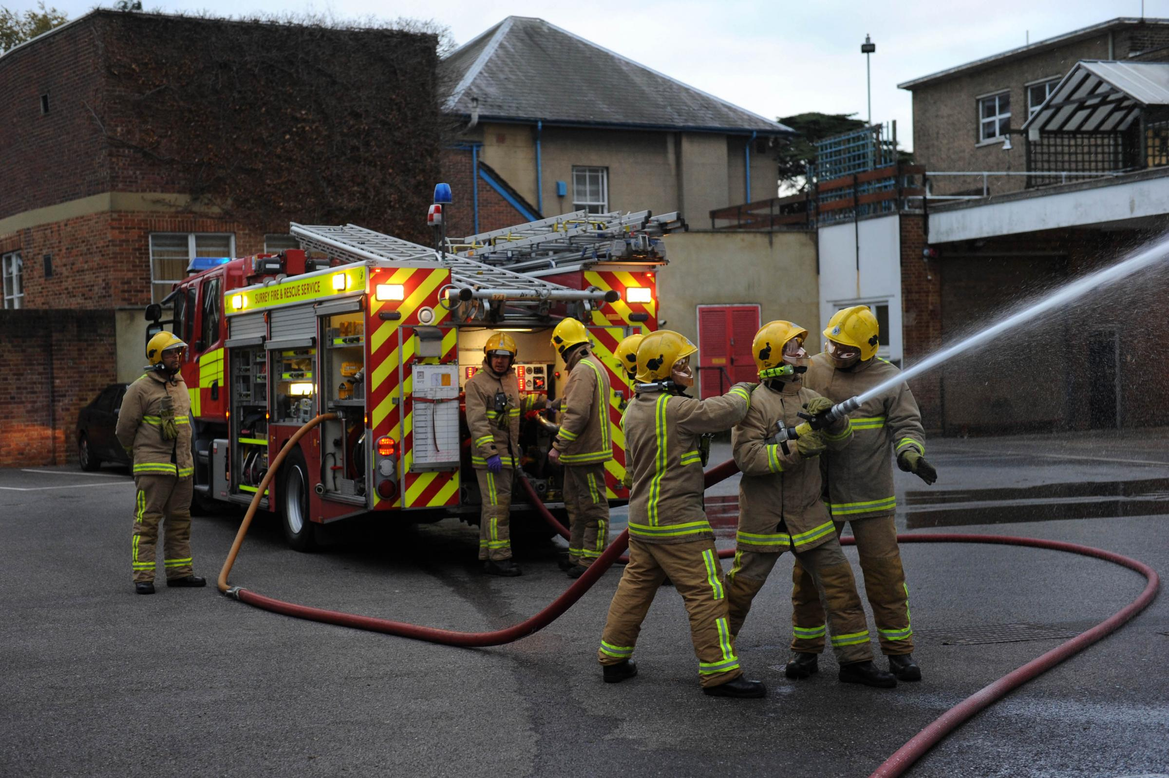 Epsom fire station is set to lose one of its two fire engines