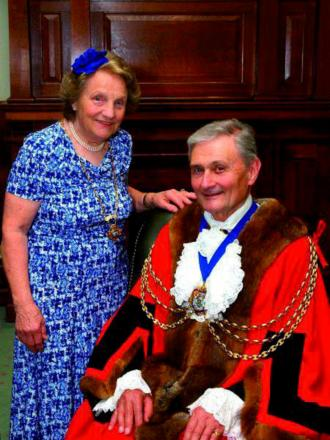 Councillor David Pay, Mayor of Reigate and Banstead, with
