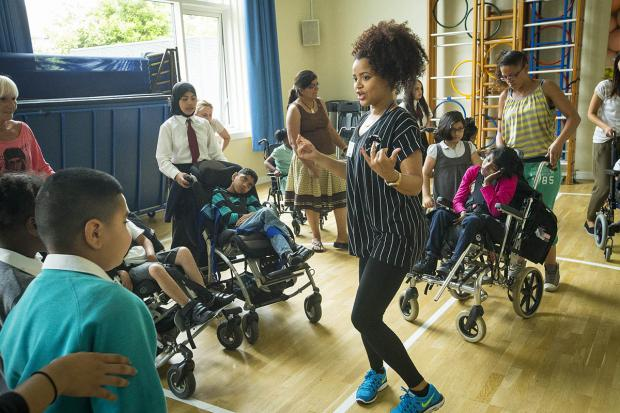 This Is Local London: Pupils enjoy dance lesson as part of national sports week