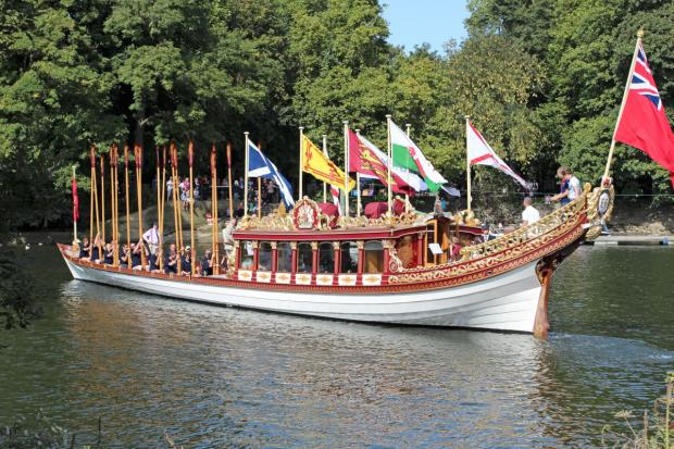 Pushing the boat out: MP Vince Cable thinks docking the Gloriana in Twickenham is not in the town's interests