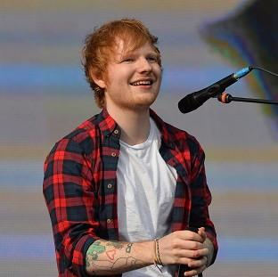 Ed Sheeran's album has gone straight in at the number one spot