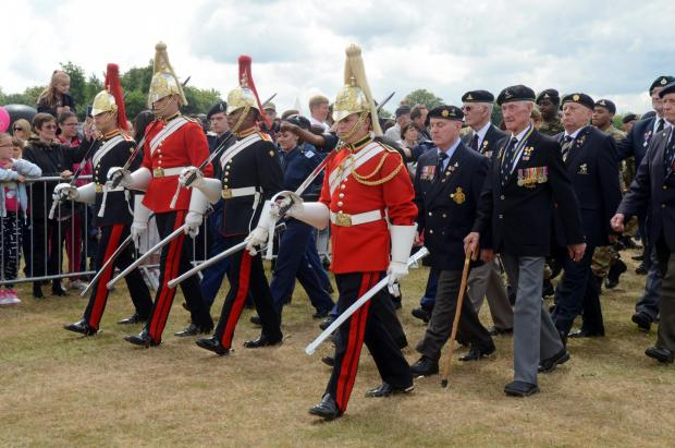 This Is Local London: PICTURED: 30,000 people visit Woolwich for Armed Forces celebration