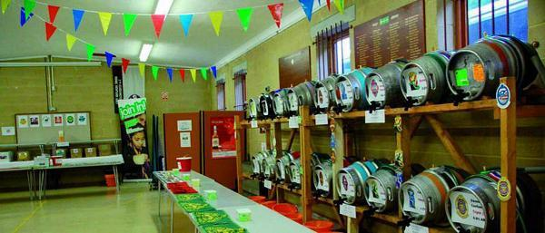 The Cuddington Beer Festival will boast 30 different types of real ale and ciders