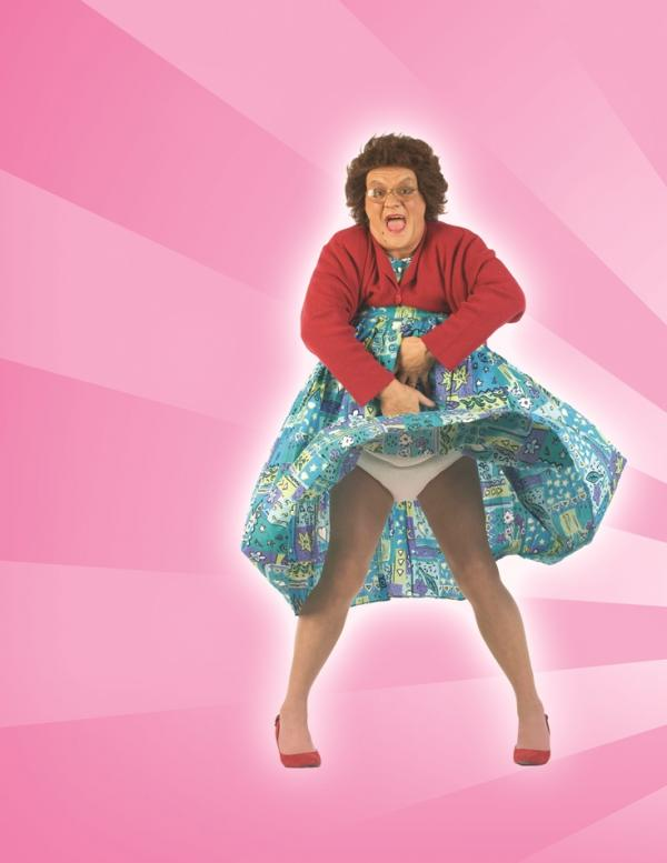 Mrs Brown's on her way to d'O2