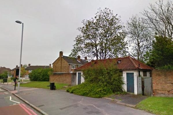 This Is Local London: The public toilet in Hook Road. Image: Google Streetview