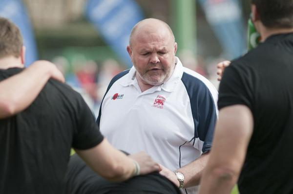 Mindful: Justin Burnell is giving London Welsh the best chance possible of staying up this season