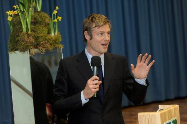 Hands up: Zac Goldsmith admitted three speeding offences
