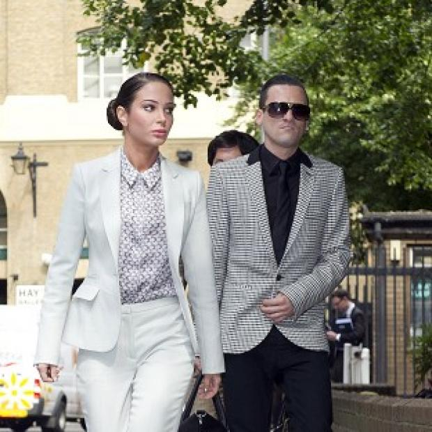 This Is Local London: Tulisa Contostavlos and Gareth Varey deny the charges against them