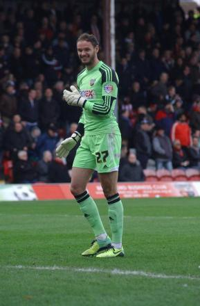 Safe hands: Bees keeper David Button has signed a new three-year deal
