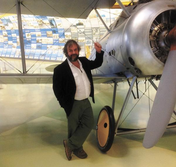 This Is Local London: Sir Peter Jackson at the RAF Museum