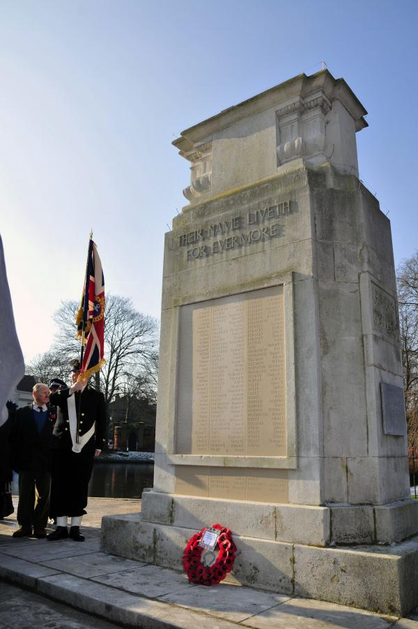 A full list of names featured on the memorial can be obtained from Sutton Council