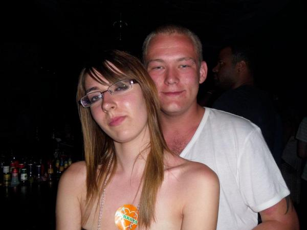 Jessica Fenner and boyfriend Daniel Dutfield