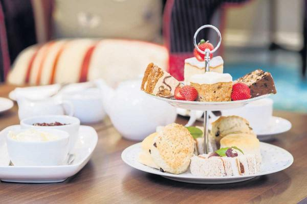 Afternoon tea for breast cancer charity
