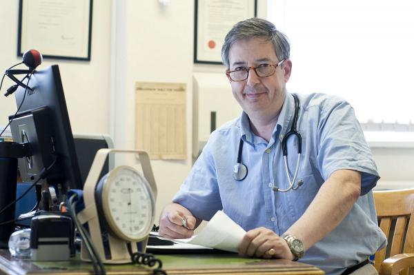 Dr Andrew Sharpe fears The Ashley Centre surgery, in Epsom, may be forced to close