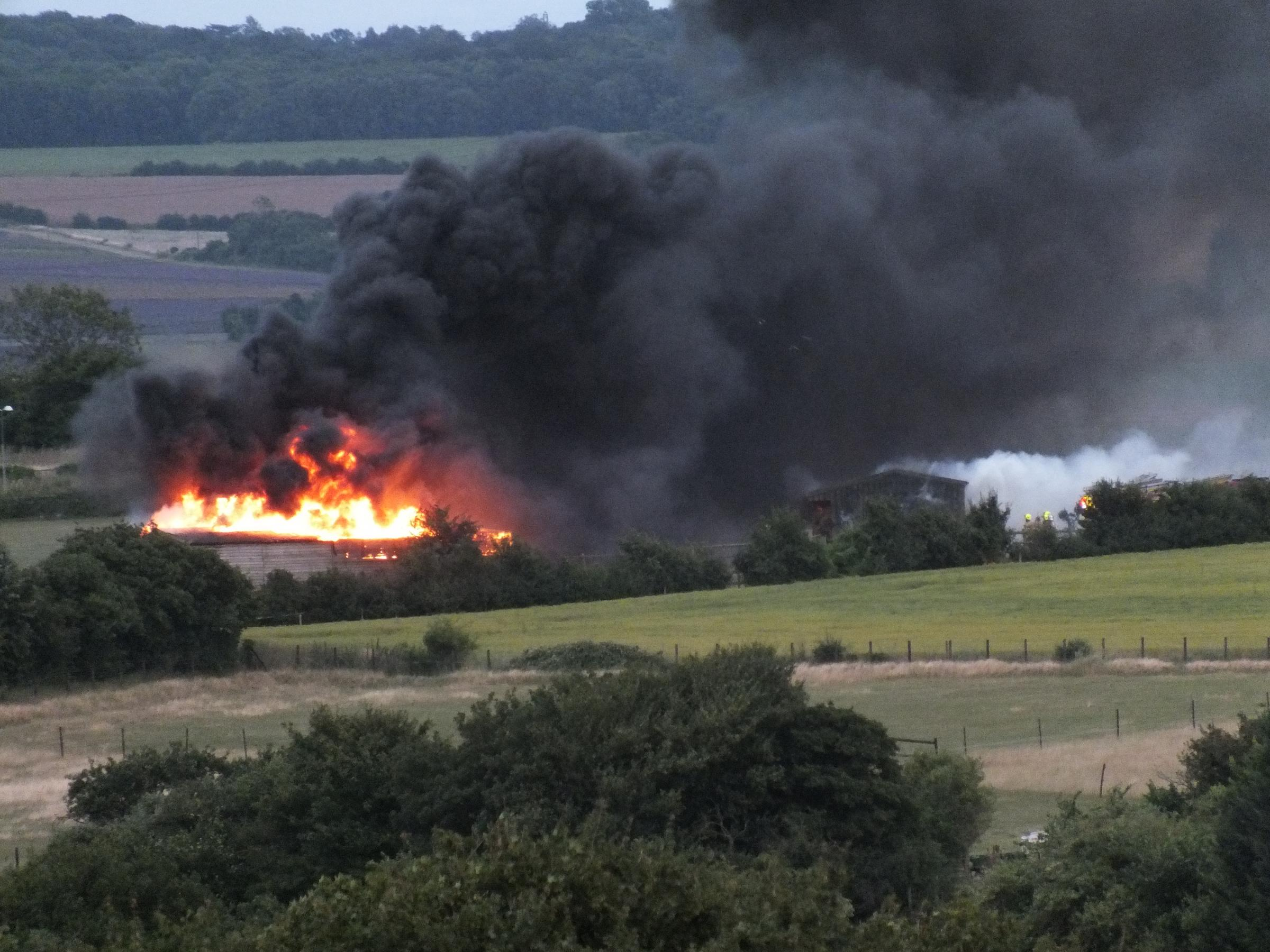 UPDATE: 'We are literally left with just a field'- Swanley stable destroyed after fire causes £50,000 of damage