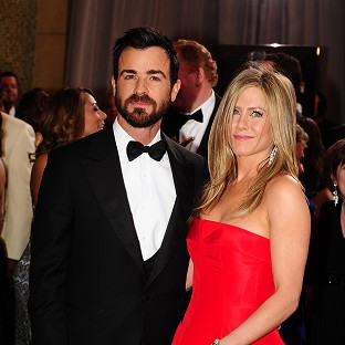 Justin Theroux isn't worried about the attention on his romance with Jennifer Aniston
