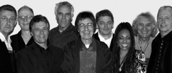 Beverley Skeete, third from right, will appear at the Rose alongside Bill Wyman's Rhythm Kings