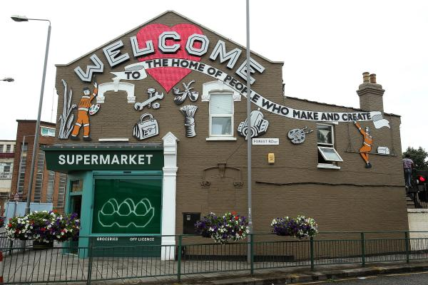 Image result for blackhorse road street art