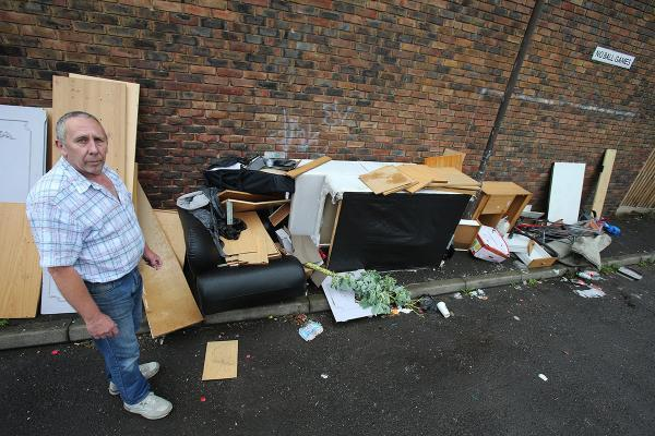 Anger over 'constant' fly-tipping