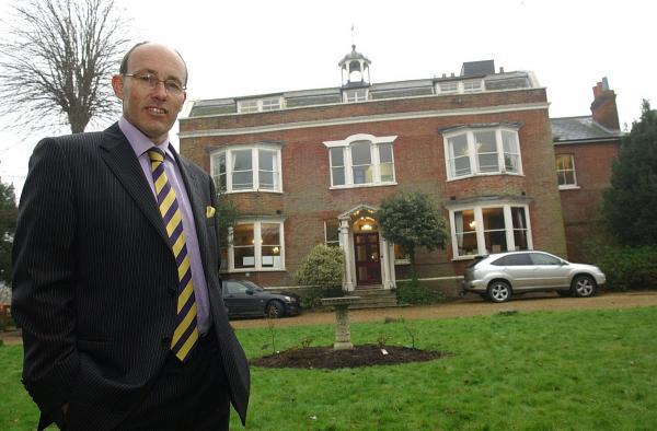 This Is Local London: Gad's Hill headteacher David Craggs is accused of misusing school funds.