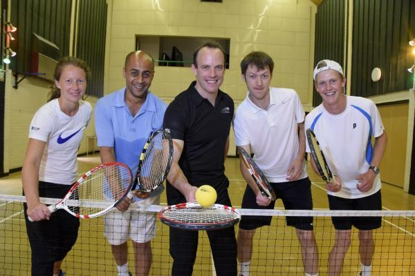 Dominic Raab: Touchtennis was invented in Claygate