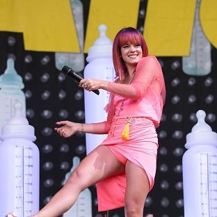 Lily Allen has stepped in to headline Latitude