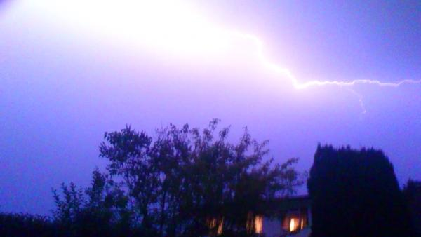 This Is Local London: lightning over biggin hill 18/7