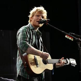Ed Sheeran's album X has sold more than 367,000 copies.