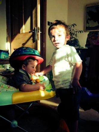 Outpouring of support after young brothers diagnosed with