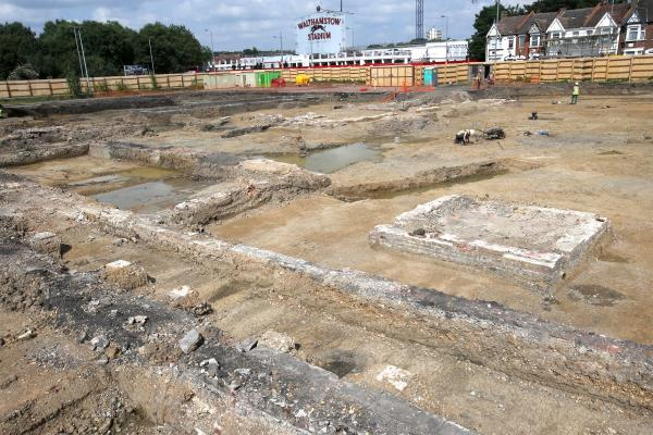 Signs of ancient life found in stadium's former car park