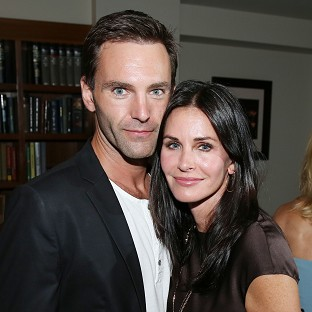 Courteney Cox and J