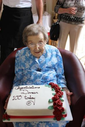 100-year-old once delivered milk and went to palace parties